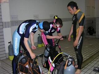 ダイビングBCの扱い方