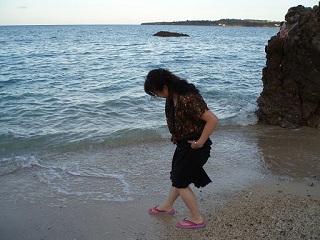 オーシャンダイバー講習浜辺で遊ぶ