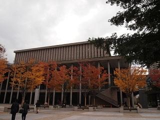 西宮芸術文化センター秋色