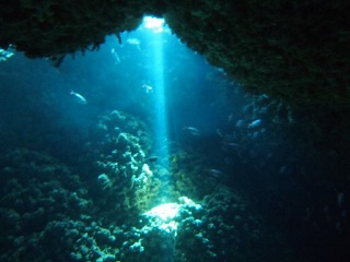 20120913ハニーホール差し込む光線