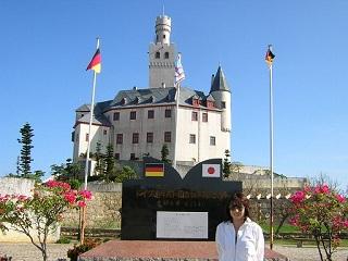 スポーツダイバー講習ドイツの城
