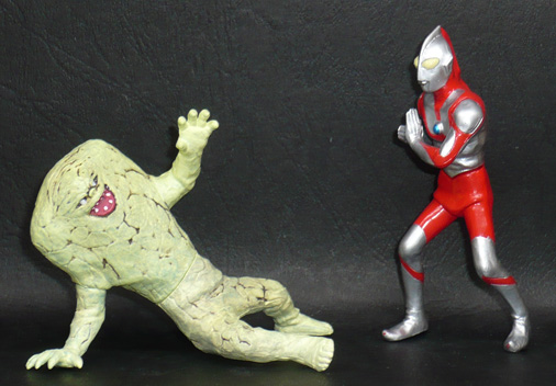 ウルトラマン(Bタイプ)VS棲星怪獣ジャミラ