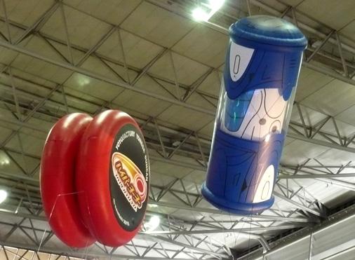 次世代ワールドホビーフェア'12 Summer バンダイブース 獣旋バトル モンスーノ