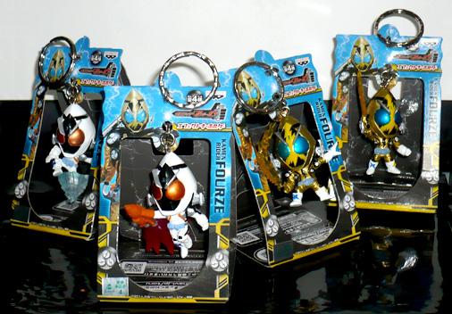 バンプレスト 仮面ライダーフォーゼエフェクトキーホルダー