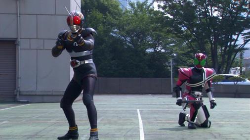 仮面ライダーディケイド 第27話「BLACK×BLACK RX」
