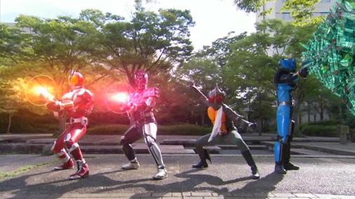 仮面ライダーディケイド 第29話「強くてハダカで強い奴」