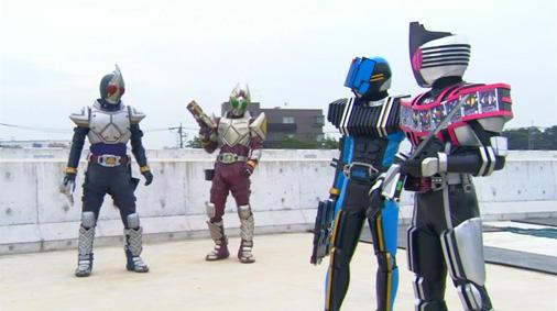 仮面ライダーディケイド 第30話「ライダー大戦・序章」