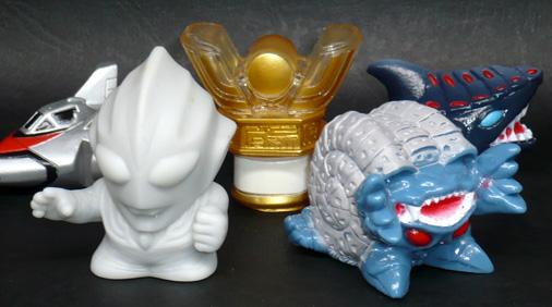 ユタカ ウルトラマンティガ 暗黒の支配者 指人形セット
