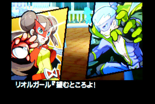 ポケットモンスターホワイト2 リオルガール&ハチクマン