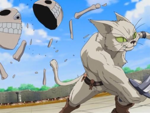 MÄR -メルヘヴン- 第78話「最凶猫ガーディアン」