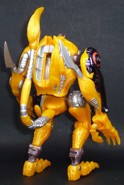 サイバトロン 機械化密林巡査員 メタルスチータス2 ロボットモード