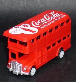 2012年ロンドンオリンピック コカ・コーラ HAPPY BUS プルバックカー デザインB