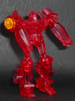 アームズマイクロン オートボット オプティマスプライムブラスター(レッドクリアVer,) ロボットモード