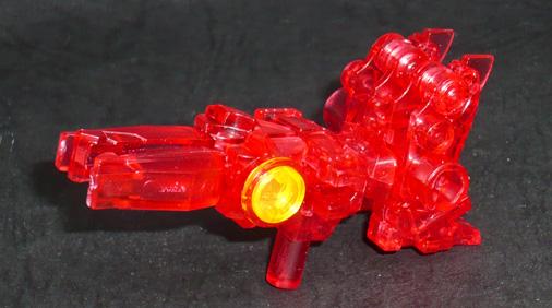 アームズマイクロン オートボット オプティマスプライムブラスター(レッドクリアVer,) ウェポンモード