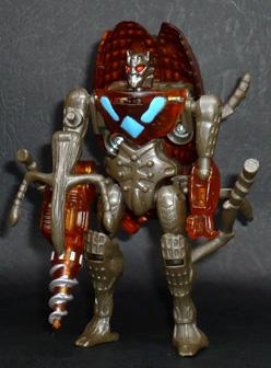 インセクトロン 地底工作員 ドリルナッツ ロボットモード