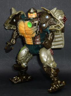 サイバトロン 陸上防衛戦士 メタルスライノックス ロボットモード