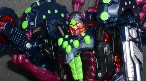 デストロン 忍者兵 メタルスタランス ロボットモード
