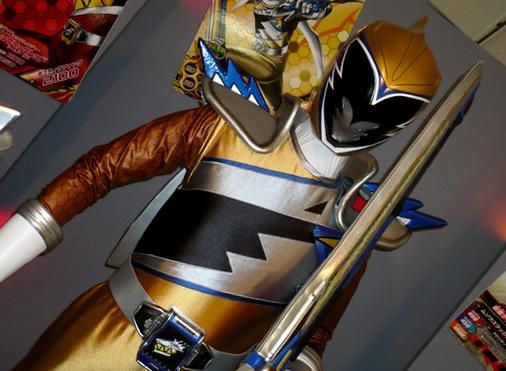 仮面ライダー×スーパー戦隊 Wヒーローウィンターカーニバル2014 獣電戦隊キョウリュウジャー キョウリュウゴールド
