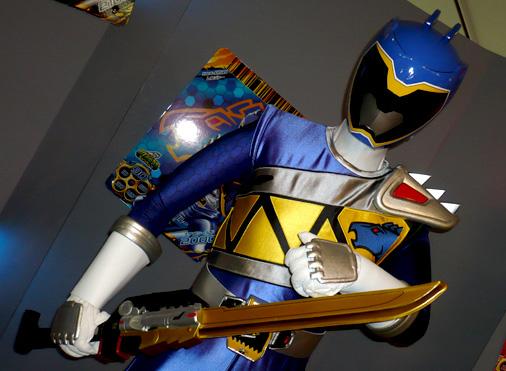 仮面ライダー×スーパー戦隊 Wヒーローウィンターカーニバル2014 獣電戦隊キョウリュウジャー キョウリュウブルー