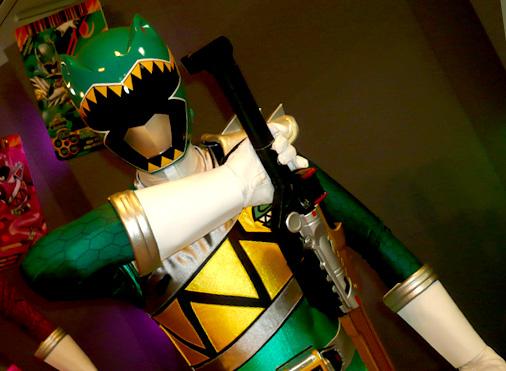 仮面ライダー×スーパー戦隊 Wヒーローウィンターカーニバル2014 獣電戦隊キョウリュウジャー キョウリュウグリーン