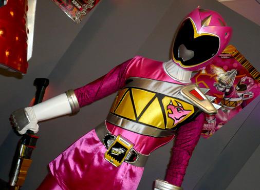 仮面ライダー×スーパー戦隊 Wヒーローウィンターカーニバル2014 獣電戦隊キョウリュウジャー キョウリュウピンク