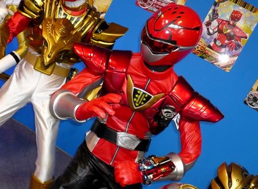 仮面ライダー×スーパー戦隊 Wヒーローウィンターカーニバル2014 特命戦隊ゴーバスターズ レッドバスター パワードカスタム