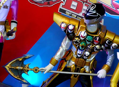 仮面ライダー×スーパー戦隊 Wヒーローウィンターカーニバル2014 海賊戦隊ゴーカイジャー ゴーカイシルバー ゴールドモード