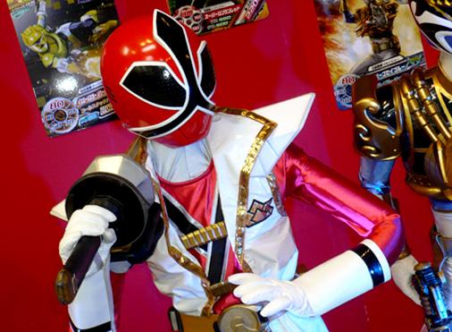 仮面ライダー×スーパー戦隊 Wヒーローウィンターカーニバル2014 侍戦隊シンケンジャー スーパーシンケンレッド