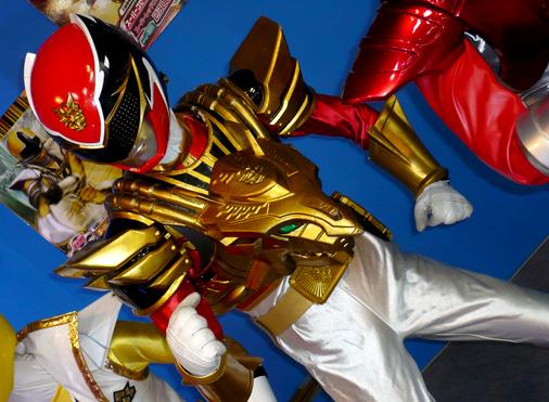 仮面ライダー×スーパー戦隊 Wヒーローウィンターカーニバル2014 天装戦隊ゴセイジャー スーパーゴセイレッド