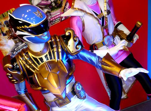 仮面ライダー×スーパー戦隊 Wヒーローウィンターカーニバル2014 天装戦隊ゴセイジャー スーパーゴセイブルー