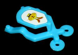 コリス フエラムネのおまけ 跳ねるおもちゃ ウサギ(青)