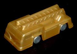 コリス フエラムネのおまけ 梯子車(メタリックゴールド)