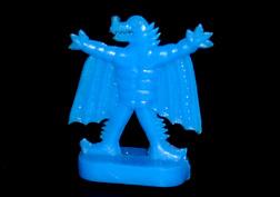 コリス フエラムネのおまけ 翼怪獣(青)