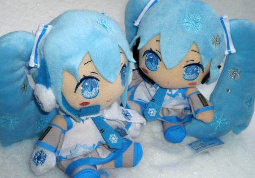 タイトー 初音ミク 雪ミクぬいぐるみ 2010&2011Ver,