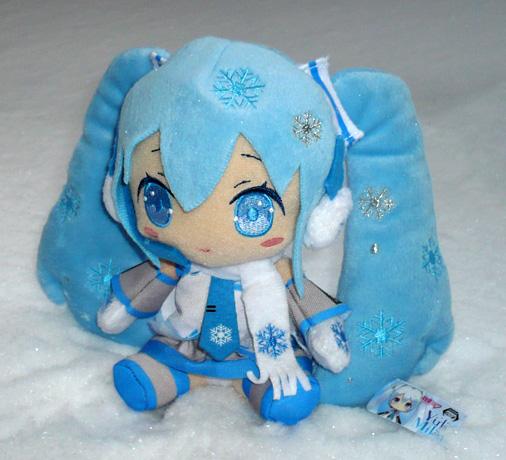 タイトー 初音ミク 雪ミクぬいぐるみ 2011Ver,