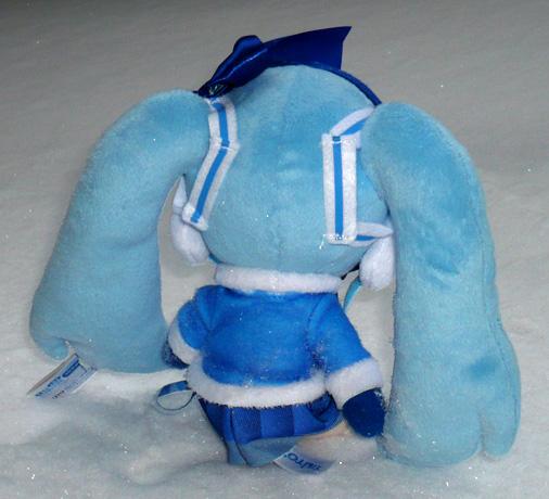 タイトー 初音ミク 雪ミクぬいぐるみ 2012Ver,