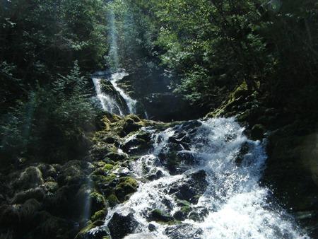 メインの焼山沢の滝