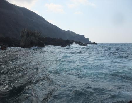 大島先端越えそうっす