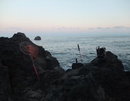 ばば浜ハナレの釣り座
