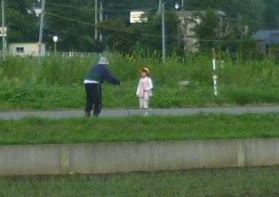 爺ちゃんと孫 2