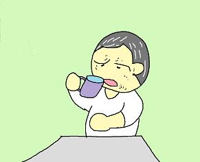 朝のコーヒー 2