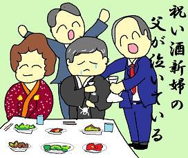 川柳:祝い酒