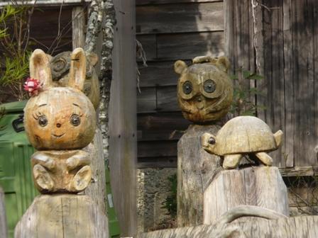 久万高原町 木彫り 7