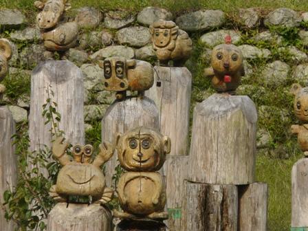 久万高原町 木彫り 8