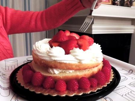 ケーキ丸ごと