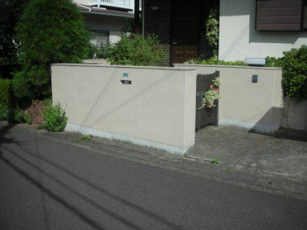 門ペイ(付帯塗装)