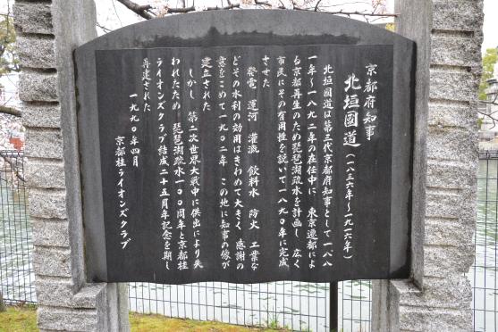 北垣国道碑文
