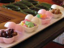 虹色パステルアート-i石川のお菓子