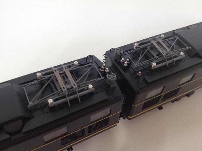天賞堂 52023 EH10形 試作タイプ(1〜4号機)黒台車 2