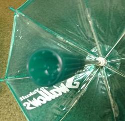 マイクロ傘の柄・・・
